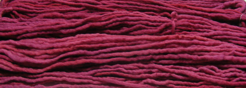 We Offer Our Super Bulky Hand Dyed Natural Fiber Yarns For